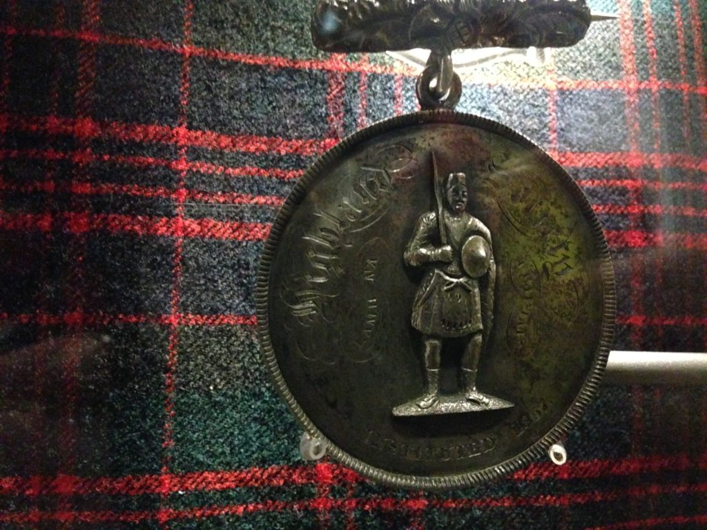 Highland medal